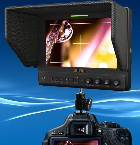 """Накамерный монитор LILLIPUT 663/O/P2 7"""" LCD HDMI (663/O/P2)"""