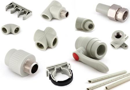 Пластиковые ппр трубы и фитинги k.l.d.