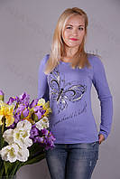 Блуза-туника трикотажная 429-осн700-113 норма оптом от производителя Украина