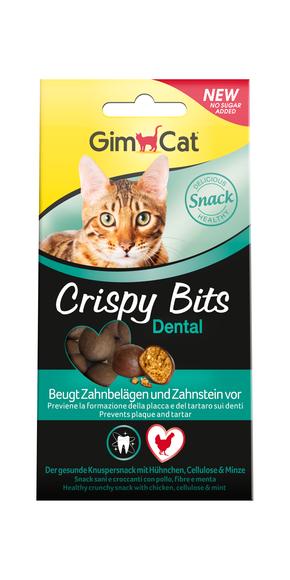 GimCat Crispy Bits Dental 40г - ласощі для кішок Здорові зуби ( 418551 )
