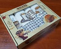 Набор кухонных полотенец Ниленс, Кофейня 4шт (Набор)