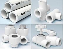 Полипропиленовые фитинги tebo techics