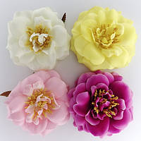 Заколка для волос  цветок 12 см