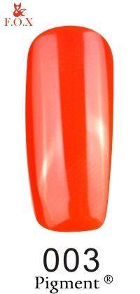 Гель-лак F.O.X gel-polish gold Pigment 003 (12 мл)