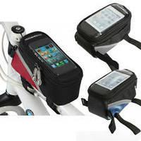 Вело-сумка под Смартфон (GPS-навигатор всегда под рукой) - Оригинальный подарок, фото 1