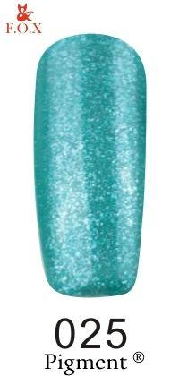 Гель-лак F.O.X gel-polish gold Pigment 025 (12 мл)