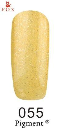 Гель-лак F.O.X gel-polish gold Pigment 055 (12 мл)