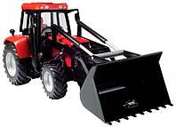 Трактор с фигуркой водителя, 25 см (красный), Dickie Toys