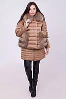 Ультрастильная и модная зимняя женская куртка «двойка» Разные цвета
