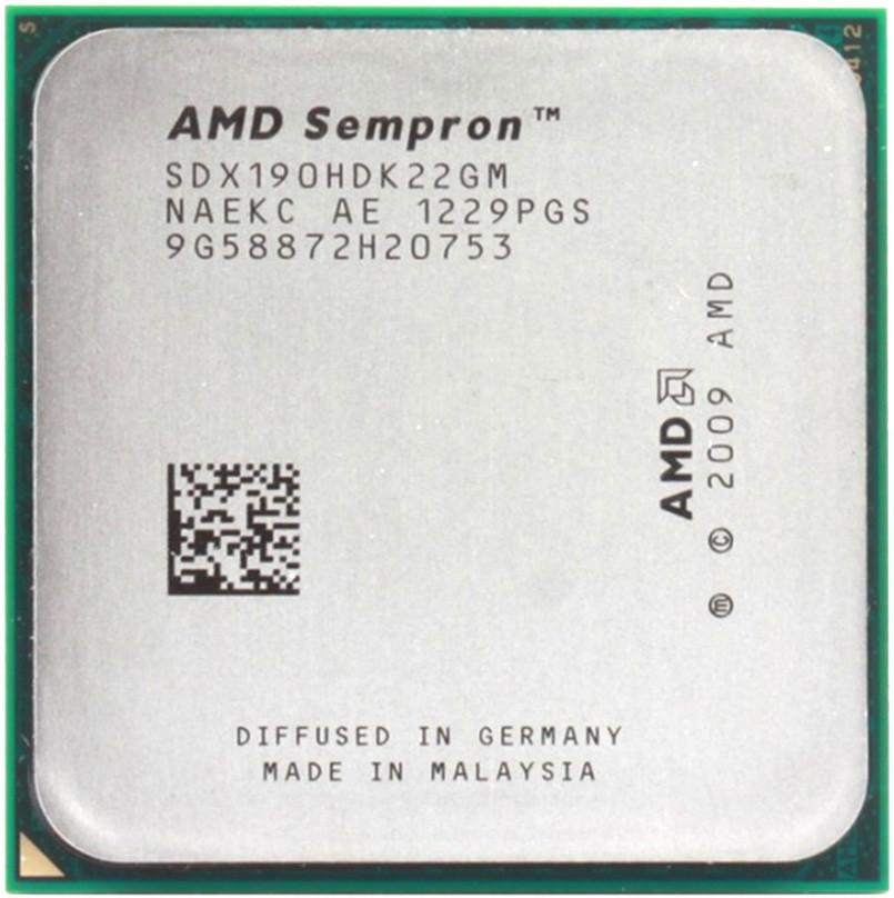 Процессор AMD Sempron 190 2.5 GHz (SDX190HDK22GM) 2000 MHz Socket AM3 1 MB