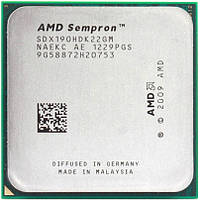 Процессор AMD Sempron 190 2.5 GHz (SDX190HDK22GM) 2000 MHz Socket AM3 1 MB