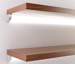 Алюминиевый профиль угловой ЛСУ для LED ленты серебро (за 1м) Код.57811, фото 3