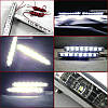 LED Авто Фара Ходовые огни DRL-9-Y-W комплект( 2 шт),Авто Фара, фото 4