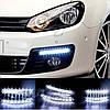 LED Авто Фара Ходовые огни DRL-9-Y-W комплект( 2 шт),Авто Фара!Акция, фото 3
