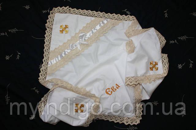 Нужна ли вышивка на крыжме для крещения.....?