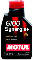Моторное масло Motul 6100 SYNERGIE+ 5W-40, 1L