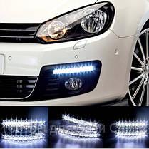 LED Авто Фара Ходовые огни DRL-9-Y-W комплект( 2 шт),Авто Фара, фото 3