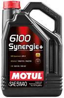Моторное масло Motul 6100 SYNERGIE+ 5W-40, 5L