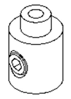 Упор для троса КТ11 (1шт) Код.57828, фото 2