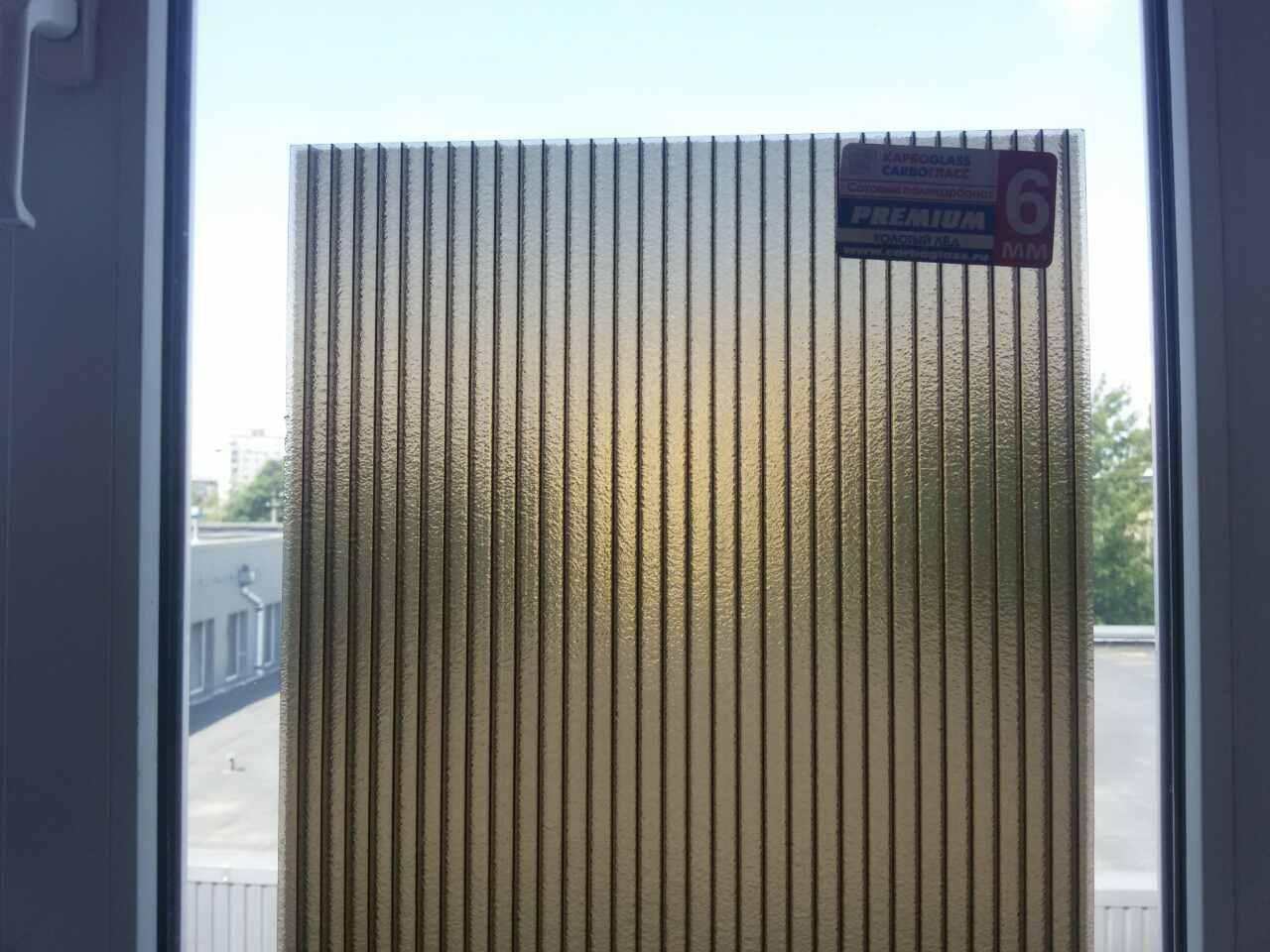 поликарбонат бронзовый фото
