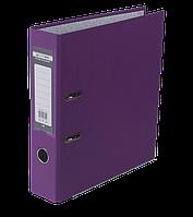 Регистратор односторонний А4 jobmax, ширина торца 70мм, сиреневый bm.3011-26c