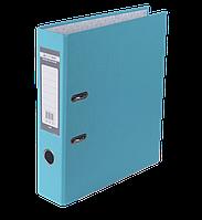 Регистратор односторонний А4 jobmax, ширина торца 70мм, голубой bm.3011-14c
