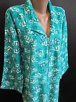 Женские махровые халаты на байке., фото 1