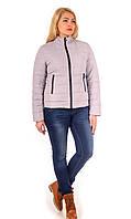 Демисезонная женская куртка из водоотталкивающей плащевой ткани. Разные цвета
