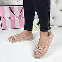 Женские туфли лоферы бантик, производитель ВЕНГРИЯ