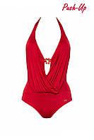 Сплошной купальник красный Marc & Andre L1240-101