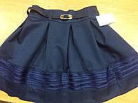 Школьная юбка для девочек 128,134,140,146 роста Стрекоза