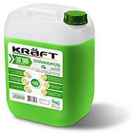 Теплоноситель для системы отопления. Антифриз бытовой KRAFT-30°C BIO  (на глицерине)