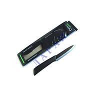 Нож керамический 73мм с ручкой черный