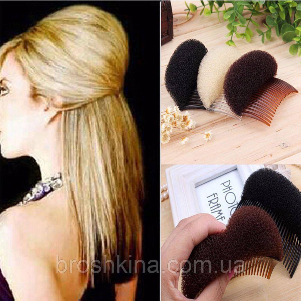 валик для волос как одеть