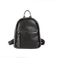 Рюкзак женский Стелла с цепями (черный), фото 1