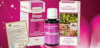 Mega Women - капли для повышения женского либидо от Health Collection (Мега Вумен) 30 мл