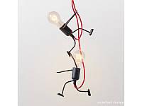 Люстра «Человечек» на две лампочки L300 010
