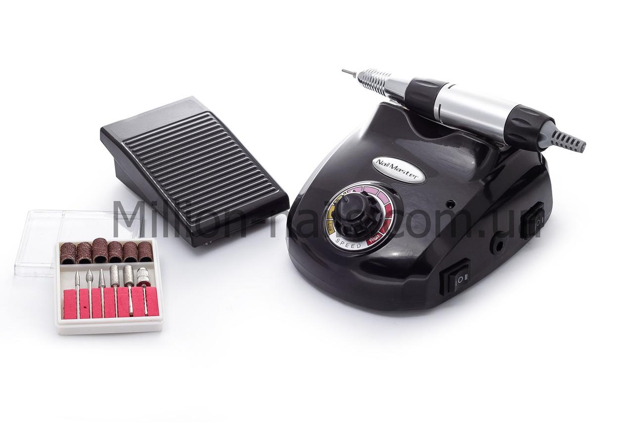 Фрезер DM-208  для маникюра и педикюра c ножной педалью,30 тыс.об/мин.30 ватт
