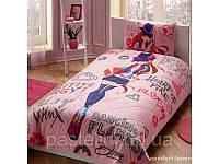 Детское постельное бельё TAC Winx Holiday Bloom (Винкс Холидей Блум) p-33924