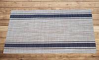 Салфетка виниловая под столовые приборы Полоска  30см*45см