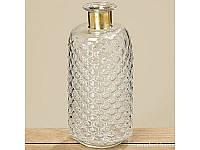 Ваза Stratos прозрачное стекло h 31 см арт g.p. 8080000