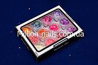 """Набор для дизайна ногтей """"Конфетти - Камифубуки"""" 12 шт в пластиковом контейнере, фото 1"""