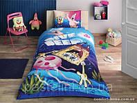 Детское постельное бельё TAC Sponge Bob Dive Deep p-339110