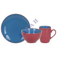 Набор для завтрака 1/3 Bicolor Blue MB16S415