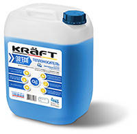Жидкость для систем отопления KRAFT-30°C ECO (пропиленгликоль)