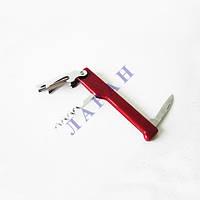 Нож для официанта 11см (штопор+нож+открывачка)