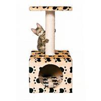 "Trixie Когтеточка-домик ""Zamora"" для кошек (бежевый в лапку), 61см"