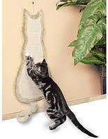 Trixie Когтеточка - драпак доска для кошек в виде кошки, 35х69см