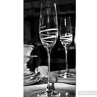 SWAROVSKI Alute Бокалы для шампанского 210мл - 6шт