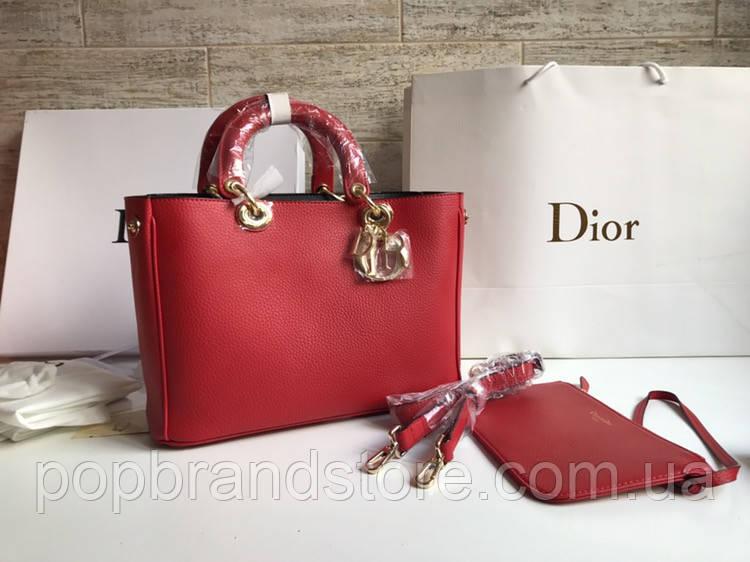 Яркая женская сумка DIOR Diorissimo (реплика)  продажа, цена в Киеве ... 0267aa3335e